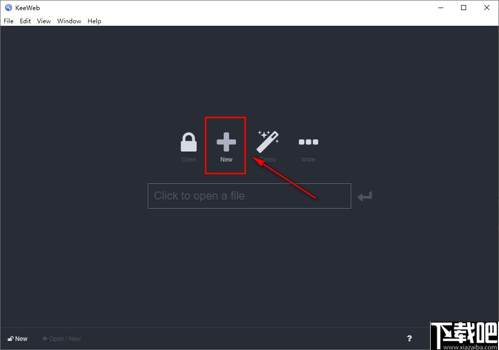 KeeWeb(密碼管理工具)