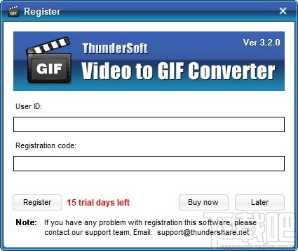 ThunderSoft Video to GIF Converter(GIF動圖轉換)