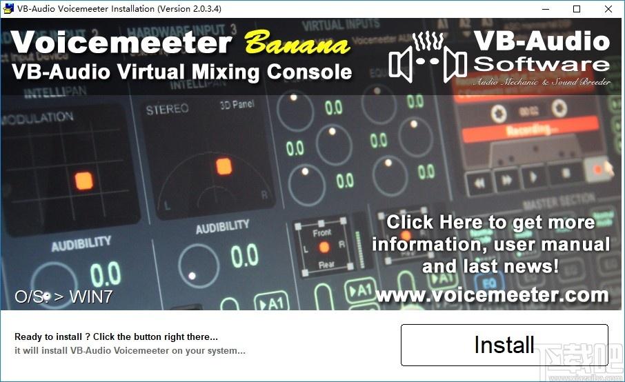 Voicemeeter(電腦調音軟件)