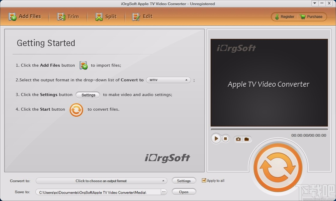 iOrgSoft Apple TV Video Converter(Apple TV視頻格式轉換器)