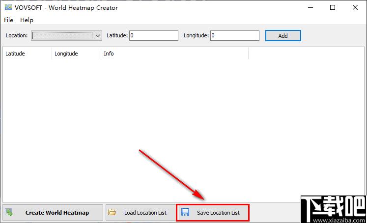 vovsoft World Heatmap Creator(地理熱圖創建工具)