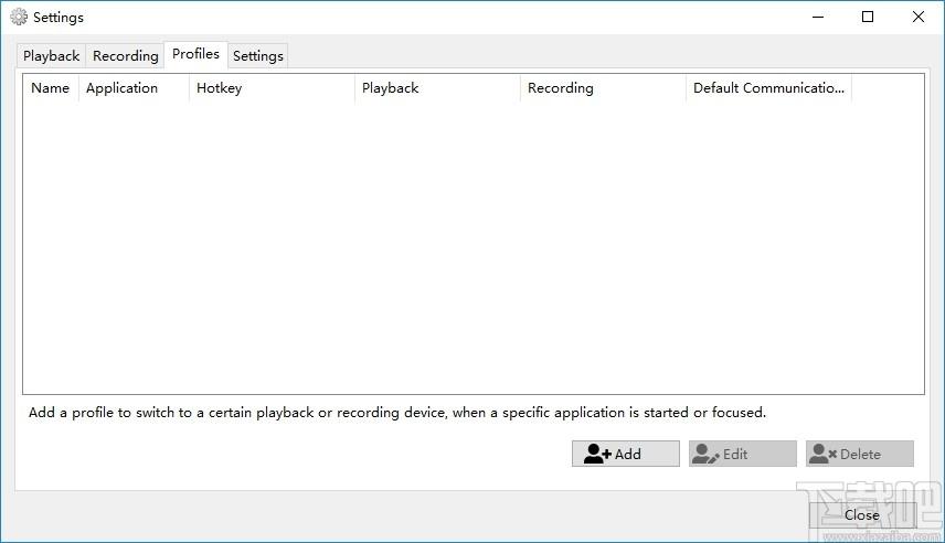SoundSwitch(音頻設備切換軟件)