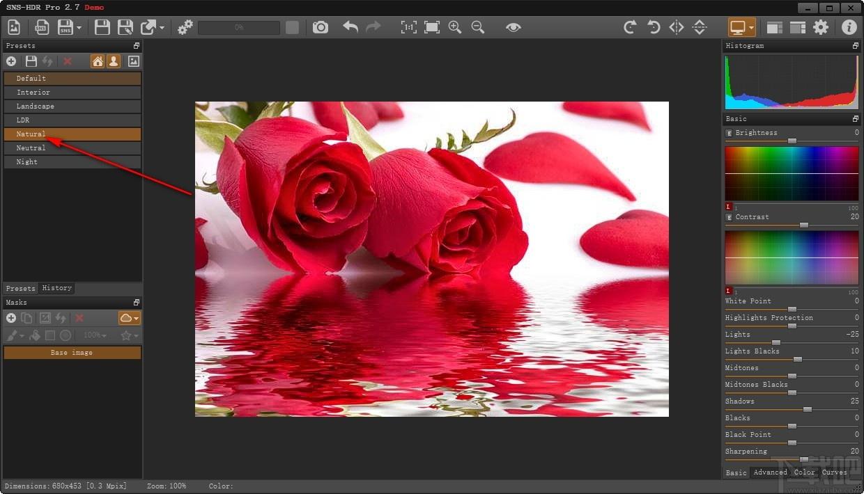 SNS-HDR Pro(HDR技術圖像處理軟件)