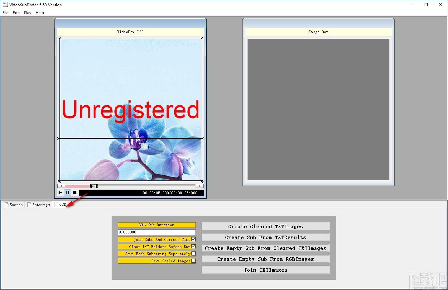 VideoSubFinder(提取視頻字幕軟件)