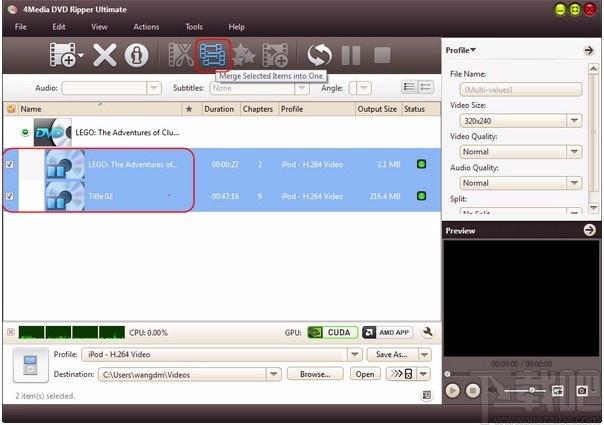4Media DVD Audio Ripper(DVD音頻翻錄工具)