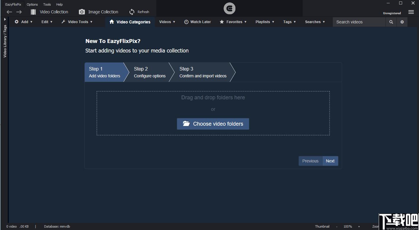 EazyFlixPix(多媒體管理工具)