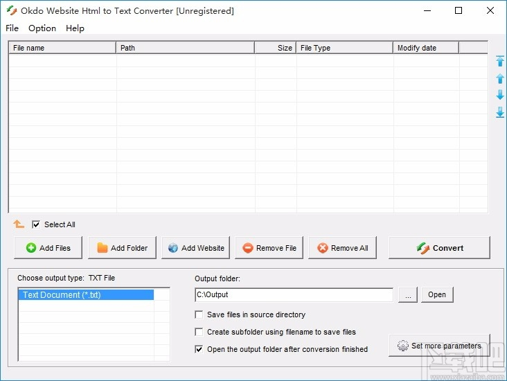 Okdo Website Html to Text Converter(網站HTML轉TXT轉換器)