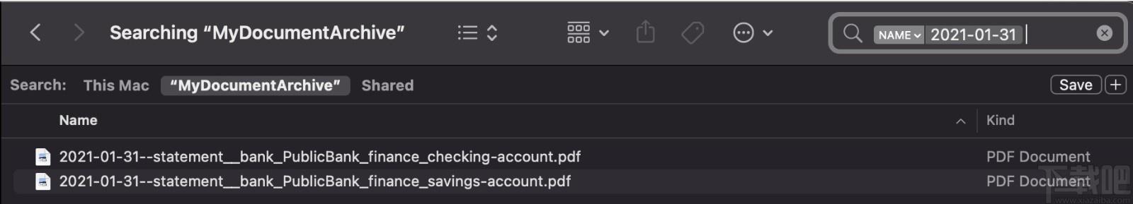 Document Archiver(文件存檔器)