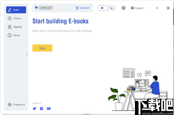 BookIt(網頁保存電子書軟件)