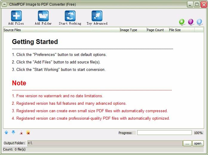 ChiefPDF Image to PDF Converter Free將圖片轉為PDF的方法
