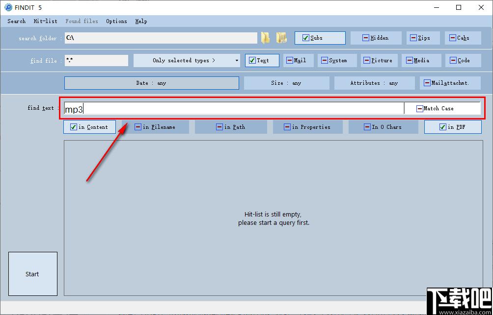 FINDIT(文件搜索管理軟件)