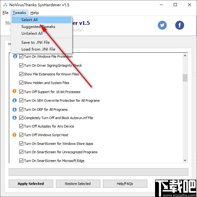 SysHardener(系統安全配置軟件)