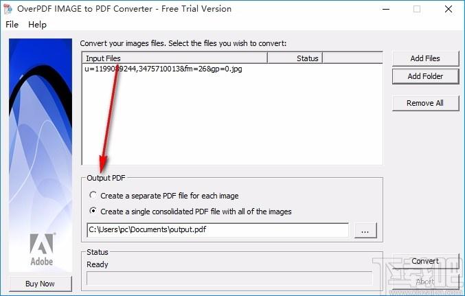 OverPDF Image to PDF Converter(圖片轉PDF轉換器)
