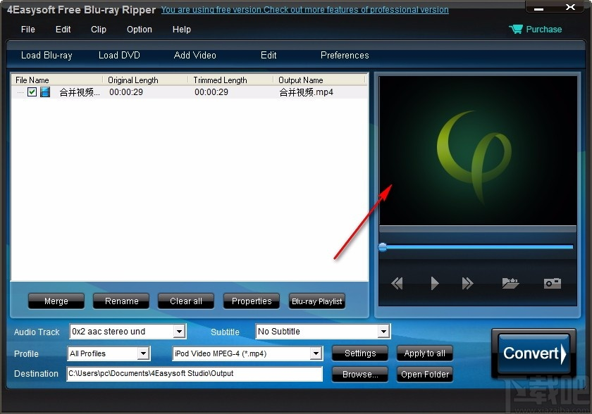 4Easysoft Free Blu-ray Ripper(免費藍光翻錄工具)