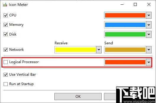 Icon Meter(系統性能監控軟件)