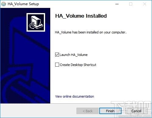 HA Volume(音頻控制軟件)