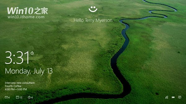 Windows Hello:Win10全面支持指紋、虹膜、刷臉識別
