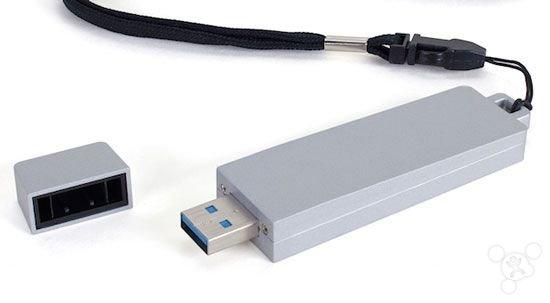 """別被騙,這""""U盤""""實際是塊SSD固態硬盤"""