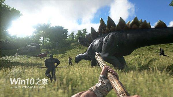 Win7/Win10虛幻4游戲《方舟:生存進化》:讓你馴恐龍