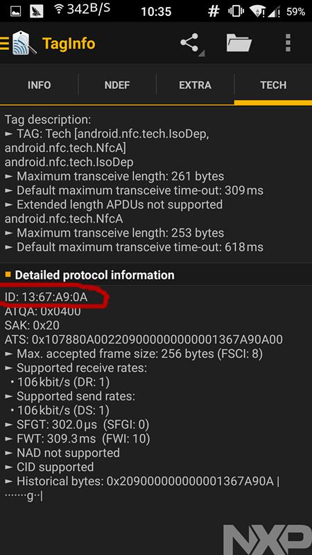 通過手機NFC功能實現門禁卡效果