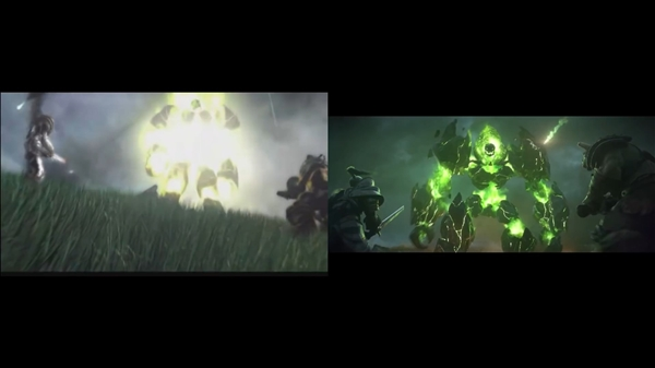 《魔獸爭霸3:重制版》CG對比原版 大片效果震撼