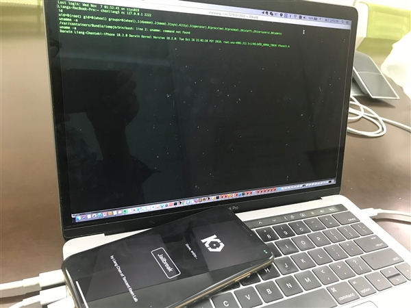 騰訊研究員:iPhone XS Max iOS12.1越獄成功!